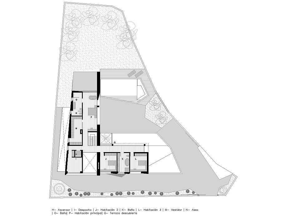 casa cumbres de chiralt arquitectos - plano (15)