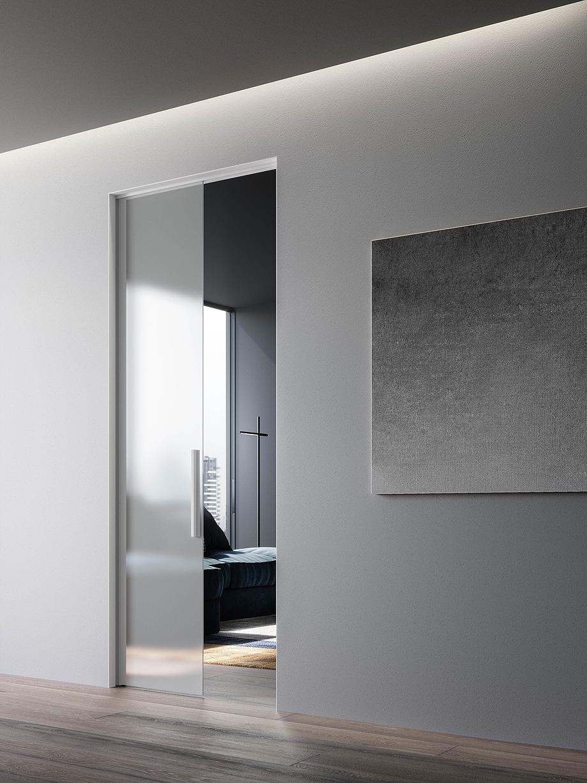 8. puerta corredera light intramuro de massimo luca y adl