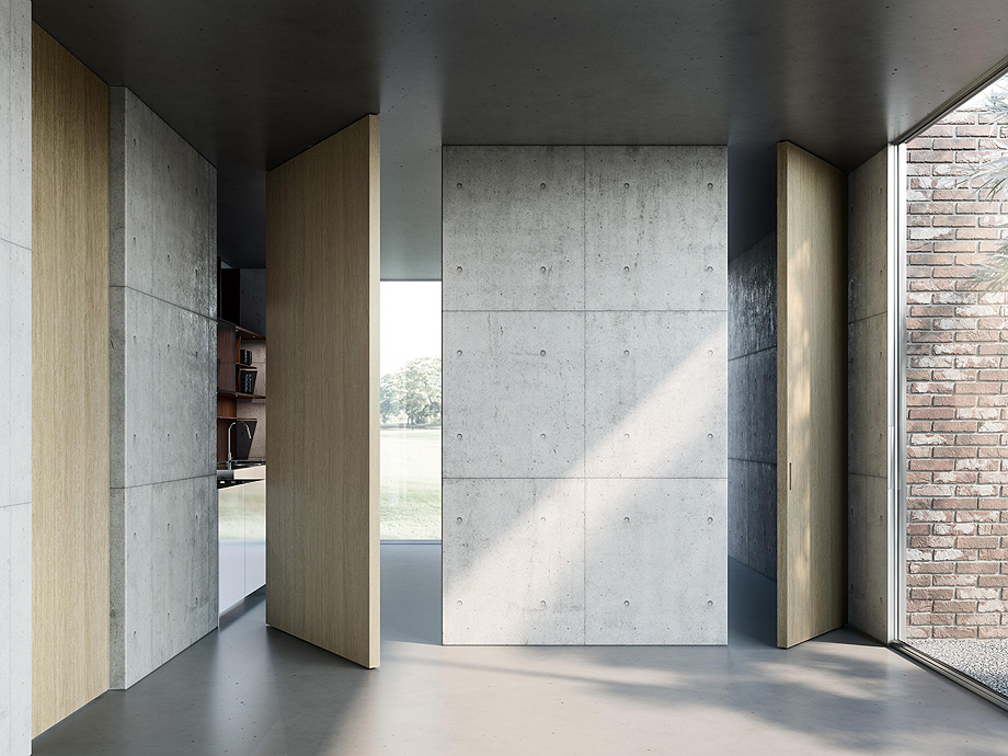 9. puerta pivotante ala de massimo luca y adl