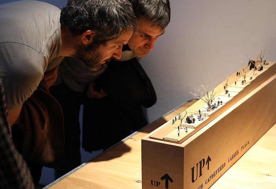 """04.04.2019, Barcelona Inauguració de l'exposició """"Import Wallonie-Bruxelles/Export Barcelona"""" al nivell 1 de l'Arts Santa Mònica. foto: Jordi Play"""
