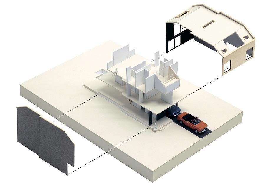 gazing house de reza aliabadi - vista axo (19)