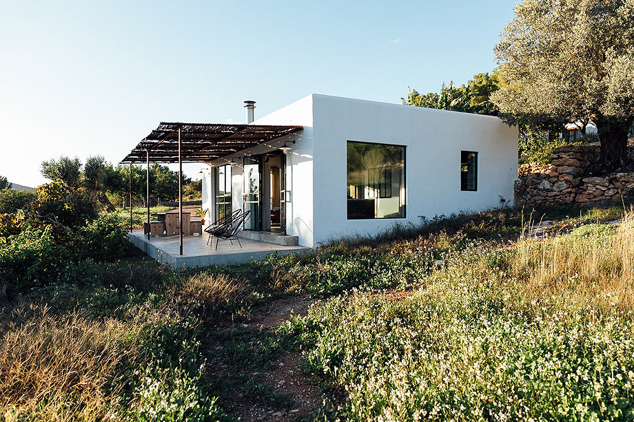 A contemporary design finca in the north of Ibiza.