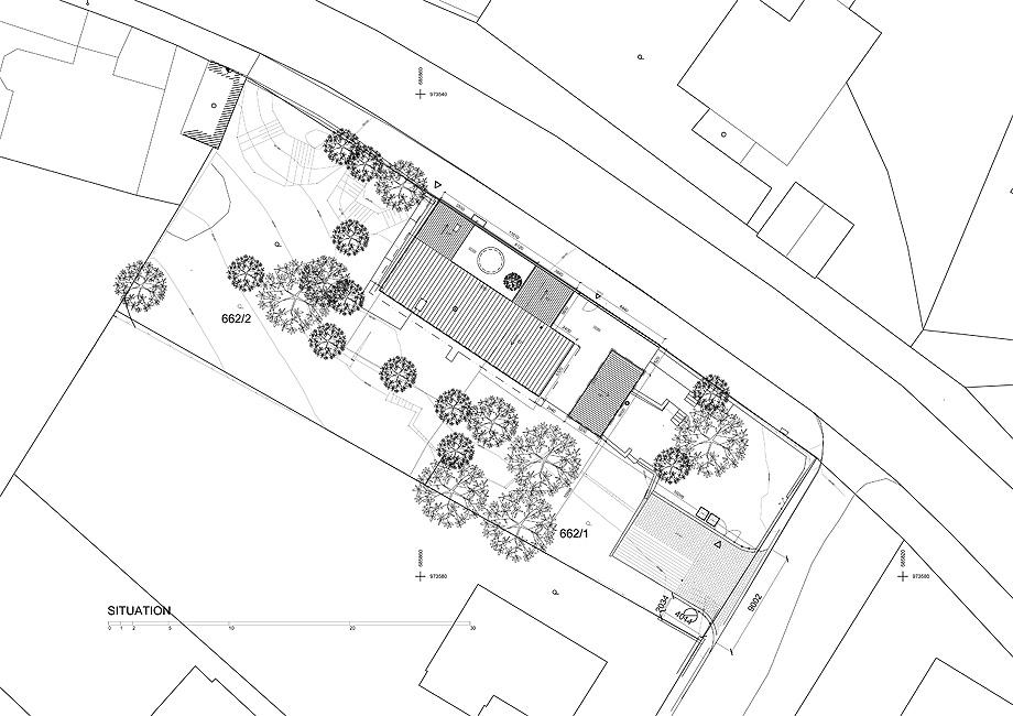 casa en liberec de mjolk architects - plano (23)