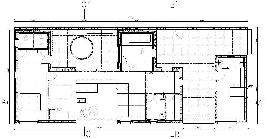 casa en liberec de mjolk architects - plano (25)