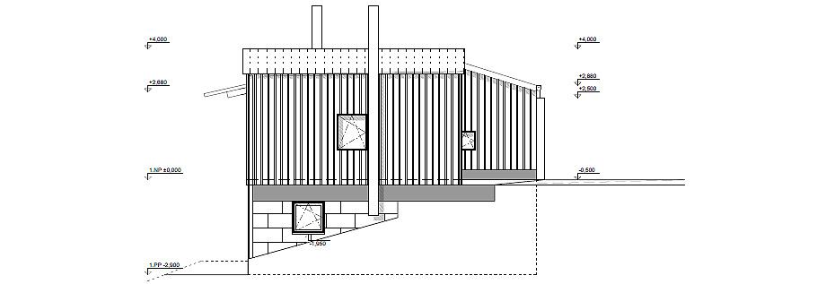 casa en liberec de mjolk architects - plano (32)