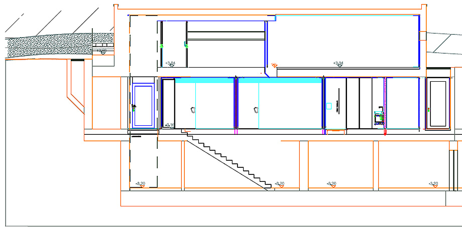 casa frente al lago garda de dreer+graf - planimetría (23)