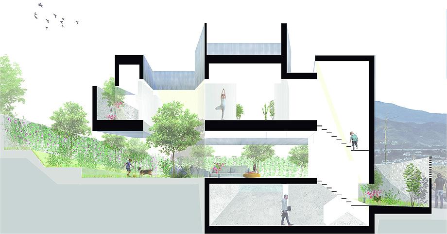 casa nube de oam arquitectos - planimetria (16)