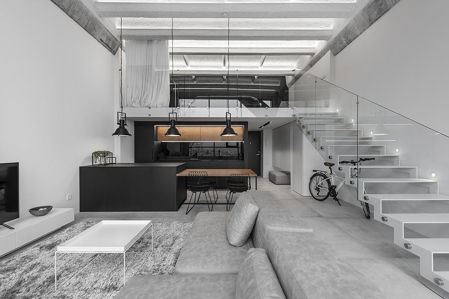 loft minimalista de idwhite - foto leonas garbačauskas (1)
