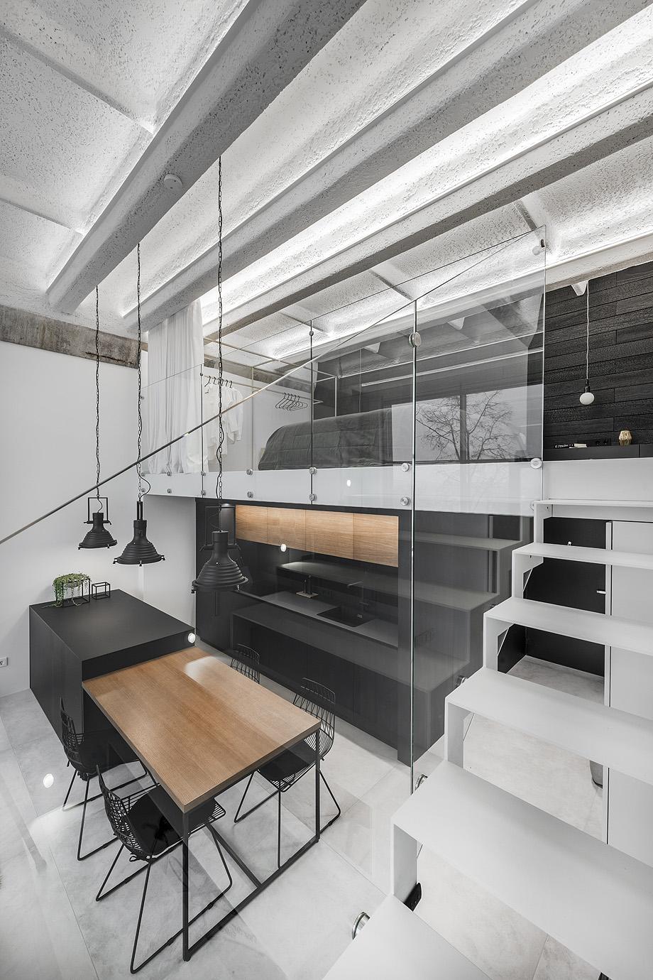 loft minimalista de idwhite - foto leonas garbačauskas (10)