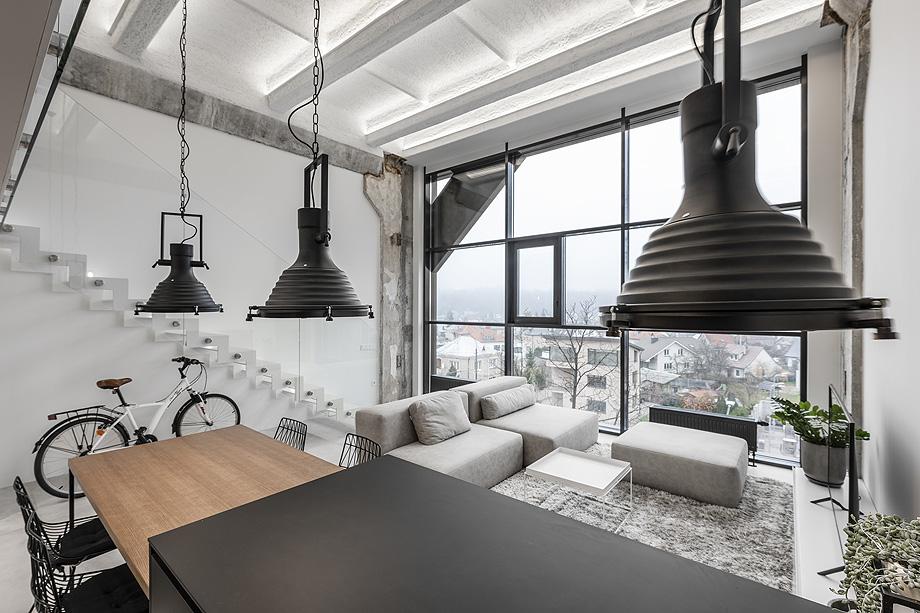 loft minimalista de idwhite - foto leonas garbačauskas (13)