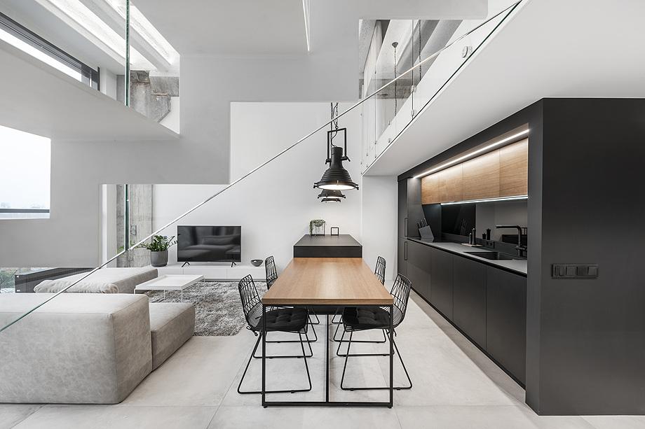 loft minimalista de idwhite - foto leonas garbačauskas (17)