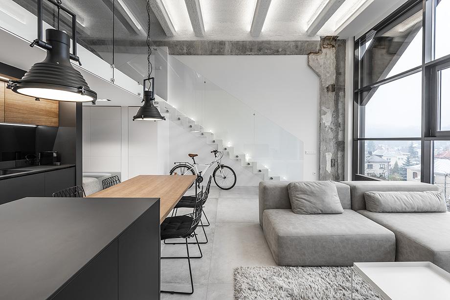 loft minimalista de idwhite - foto leonas garbačauskas (18)