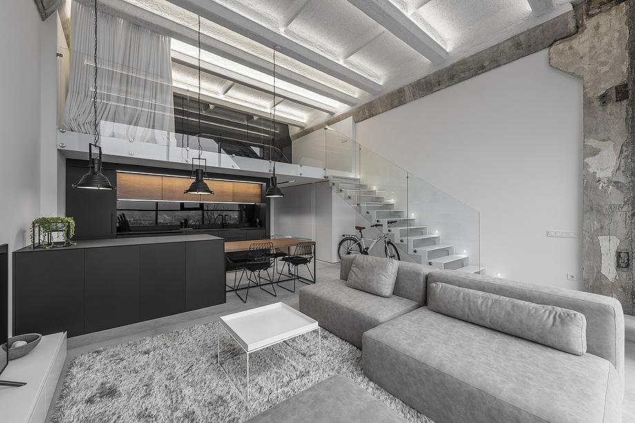 loft minimalista de idwhite - foto leonas garbačauskas (2)