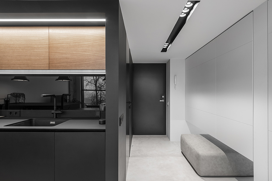 loft minimalista de idwhite - foto leonas garbačauskas (20)