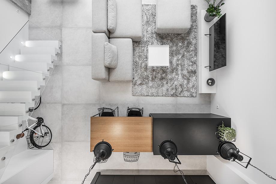 loft minimalista de idwhite - foto leonas garbačauskas (25)