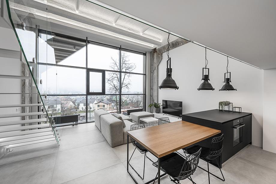 loft minimalista de idwhite - foto leonas garbačauskas (3)