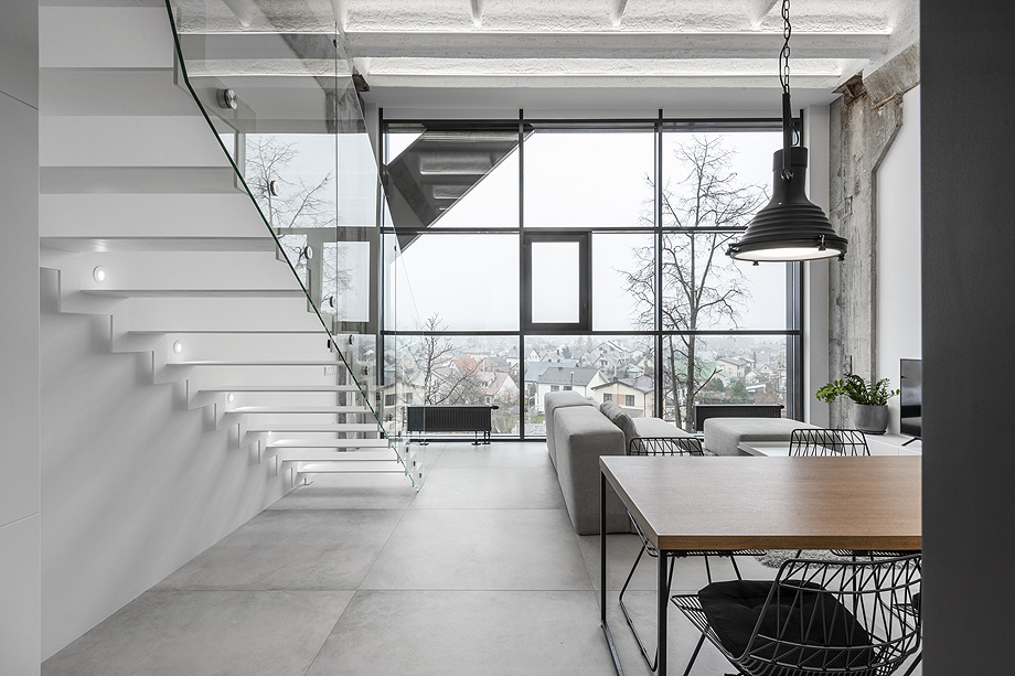 loft minimalista de idwhite - foto leonas garbačauskas (4)