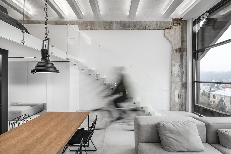 loft minimalista de idwhite - foto leonas garbačauskas (5)