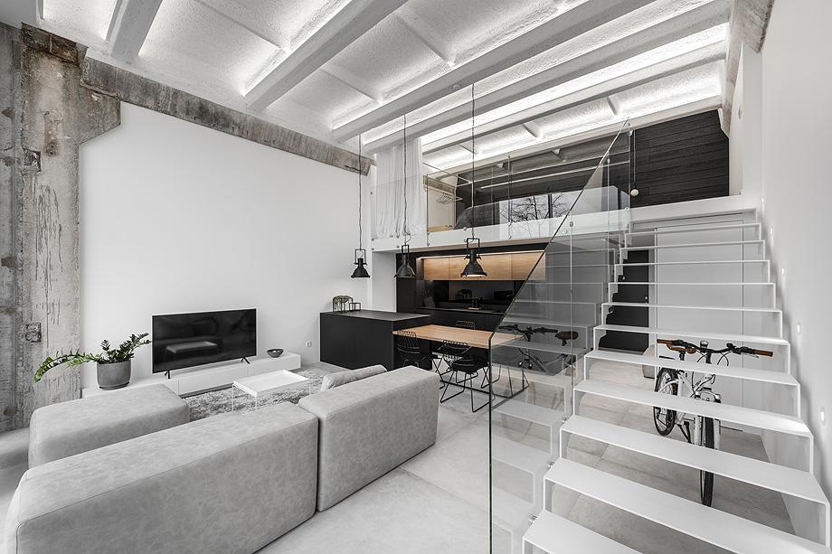 loft minimalista de idwhite - foto leonas garbačauskas (7)