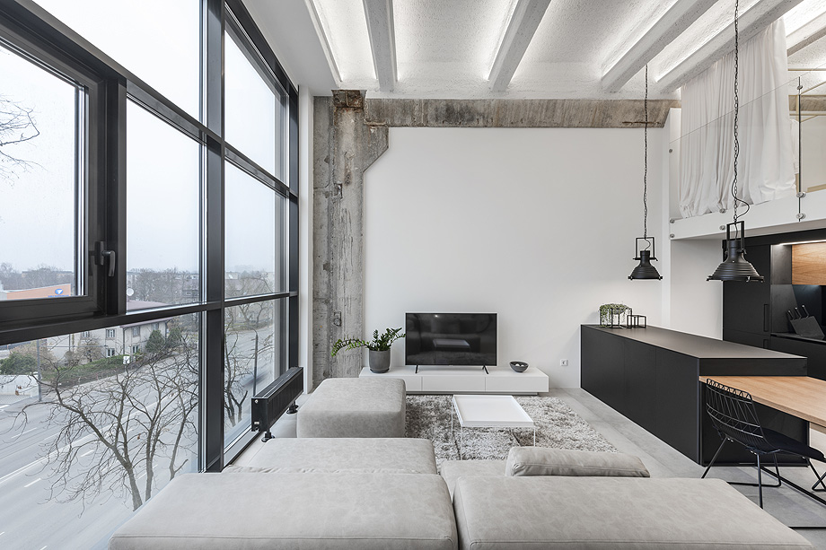 loft minimalista de idwhite - foto leonas garbačauskas (9)