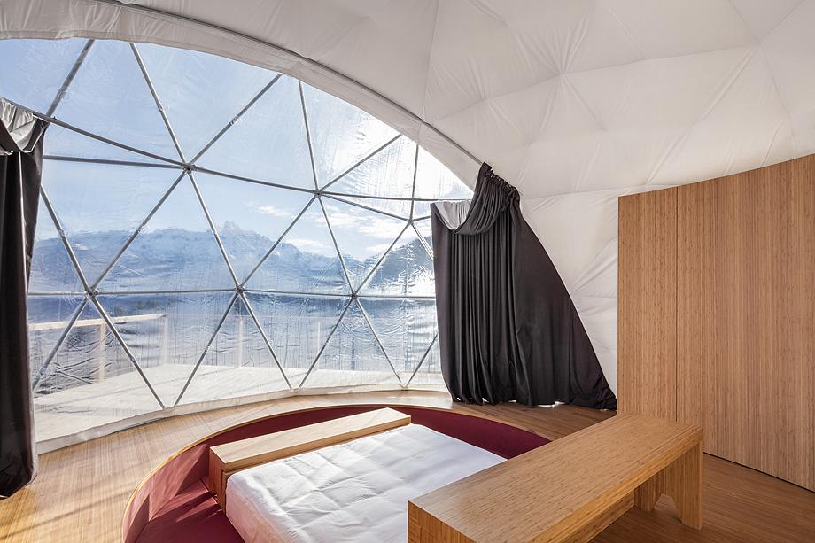 suite resort whitepod de montalba architects - foto delphine burtin (2)