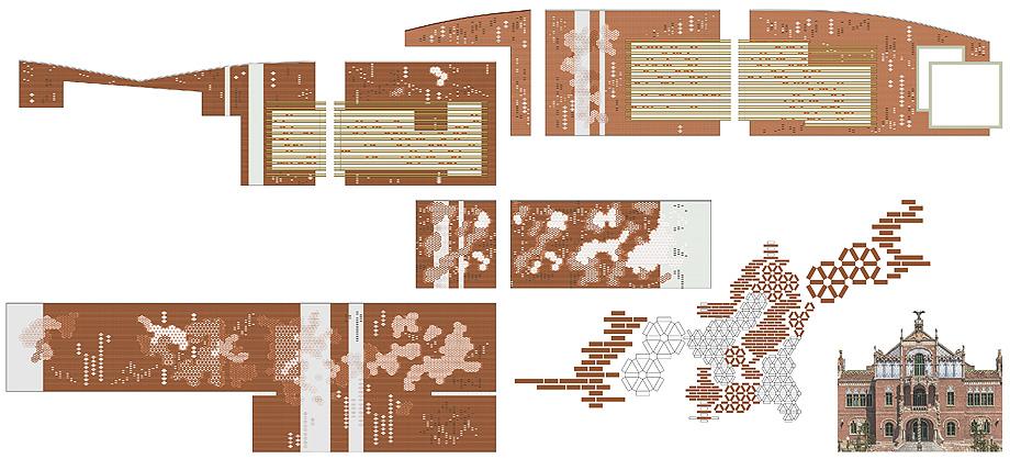 fundacion kalida tagliabue y urquiola - plano alzado composicion fachadas (7)