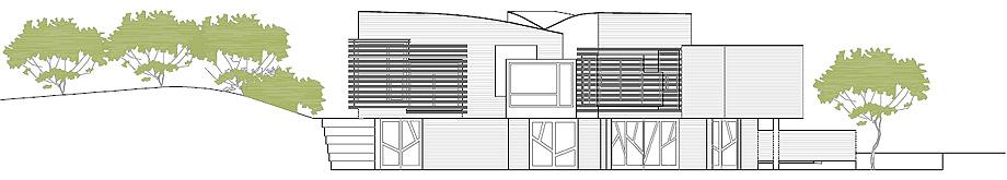 fundacion kalida tagliabue y urquiola - plano alzado fachada sur (10)