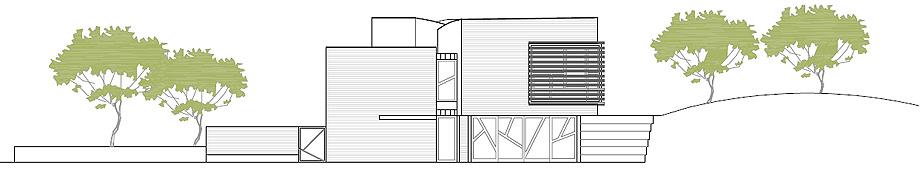 fundacion kalida tagliabue y urquiola - plano alzado fachada suroeste (11)