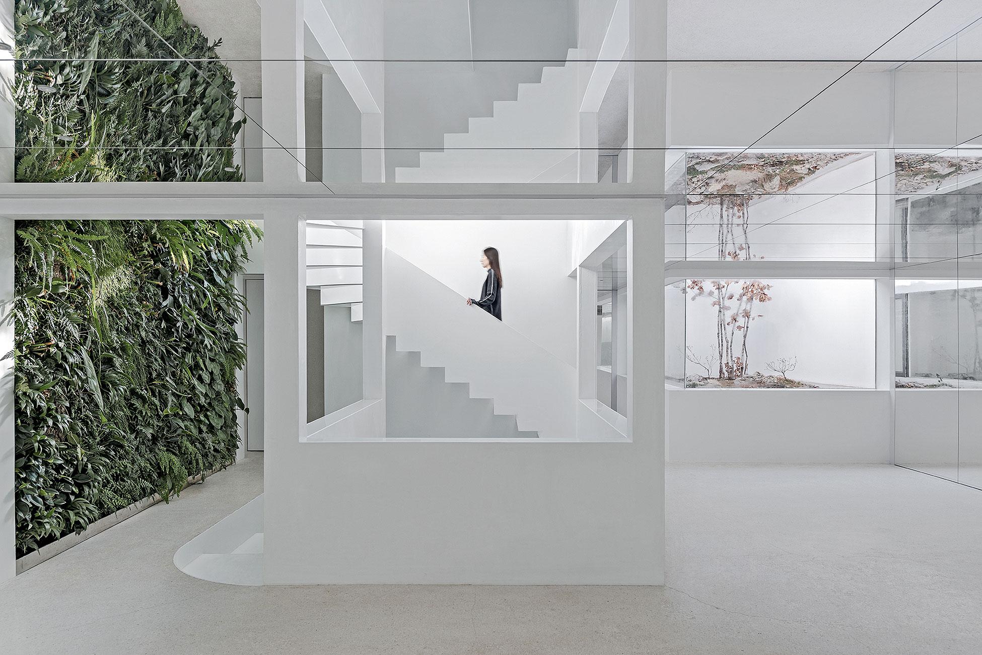 Espacio multifuncional en Pekín diseñado por Archstudio