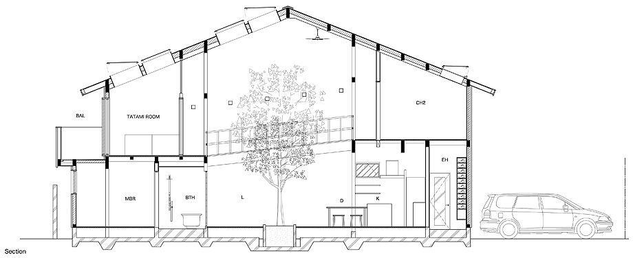 casa en kyoto de 07beach - plano (16)