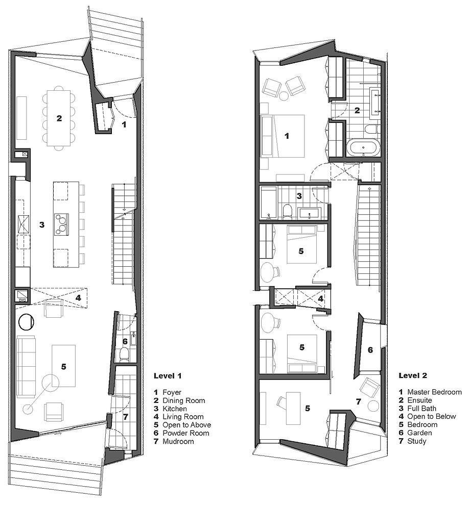 casa tesseract de phaedrus studio - plano (21)