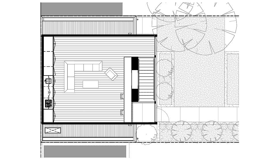estudio en melbourne de mcgann architects - plano (10)