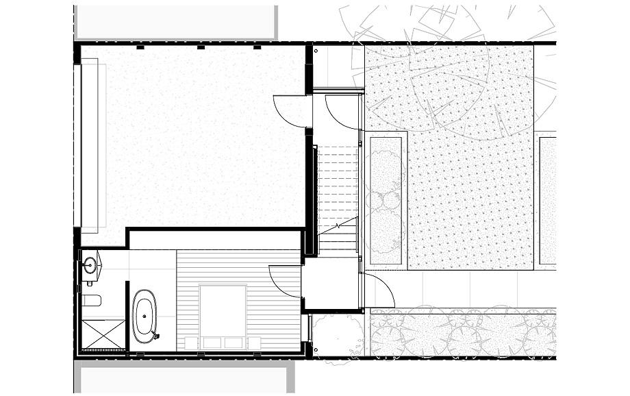 estudio en melbourne de mcgann architects - plano (11)