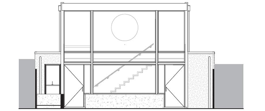 estudio en melbourne de mcgann architects - plano (12)
