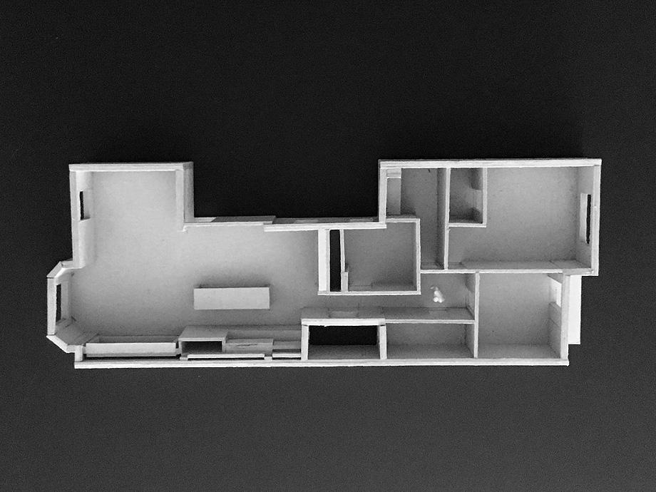 reforma en logroño de rodar arquitectura - maqueta (12)