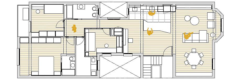 reforma en logroño de rodar arquitectura - plano (17)