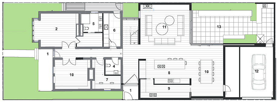 verge house de finnis architects - plano (15)