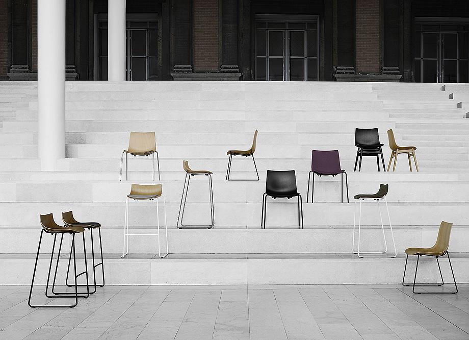 silla mesa taburete preludia de brad ascalon y carl hansen & son (1)