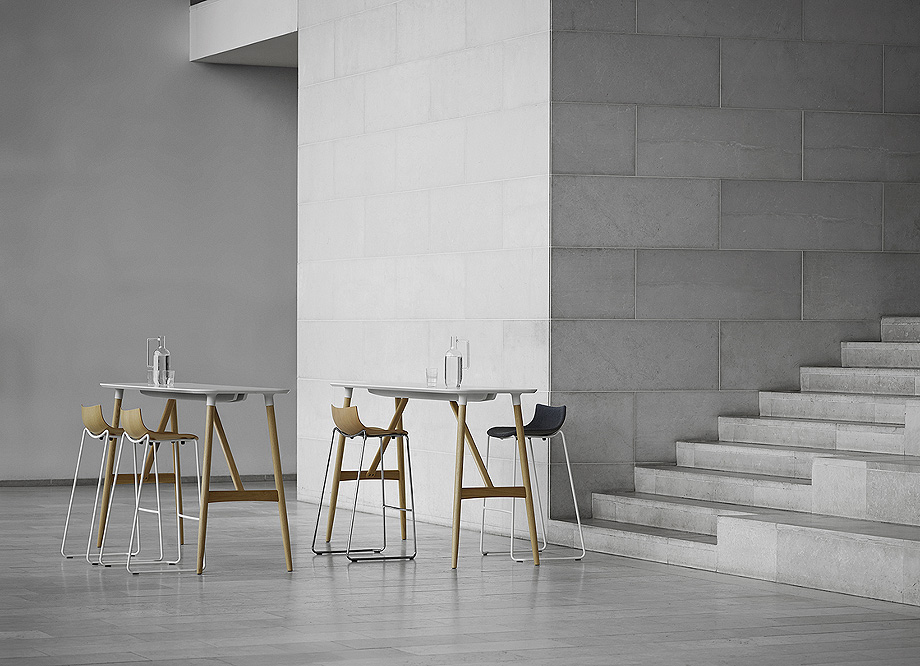 silla mesa taburete preludia de brad ascalon y carl hansen & son (2)