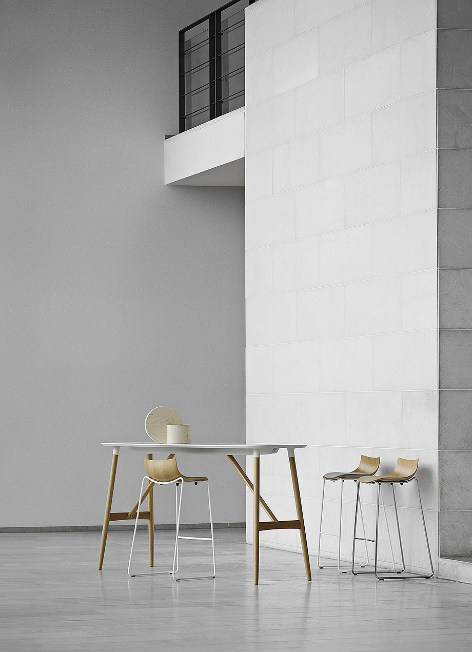 silla mesa taburete preludia de brad ascalon y carl hansen & son (6)