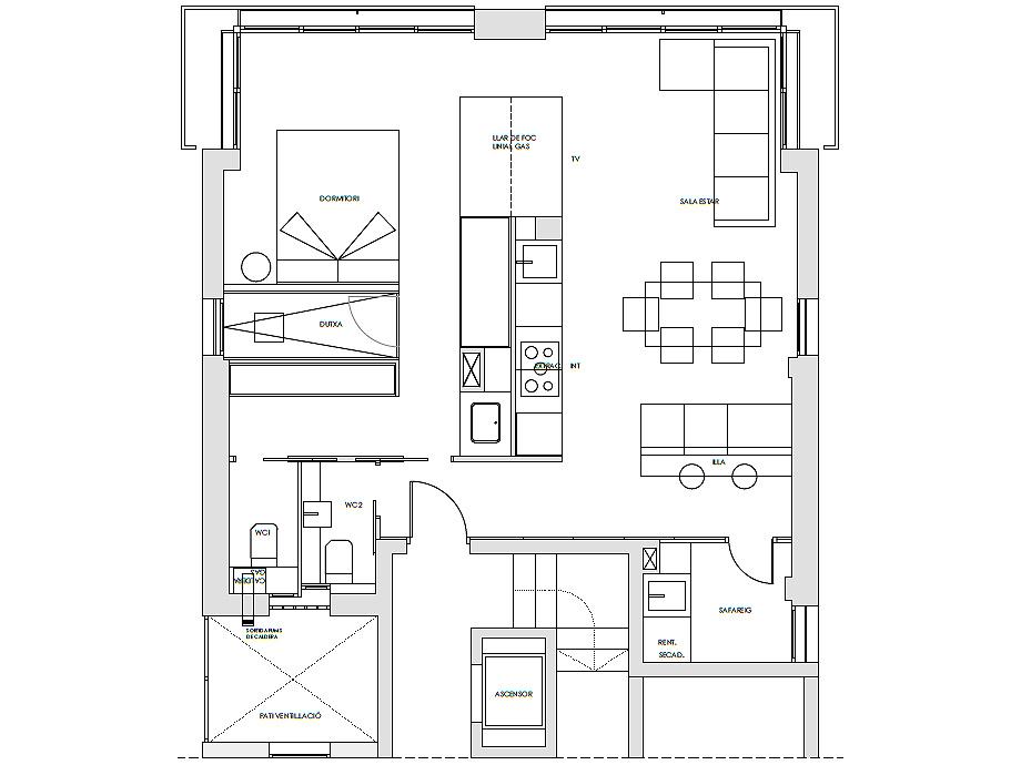apartamento en barcelona de susanna cots - plano (14)