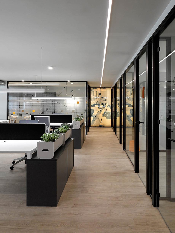Proyecto de diseño para las oficinas Eurener en Valencia