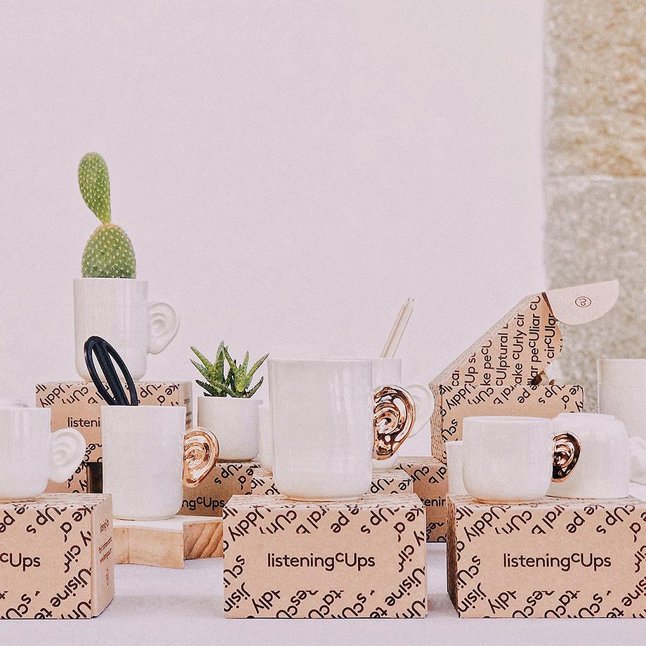 Listening Cups Design Market 2019