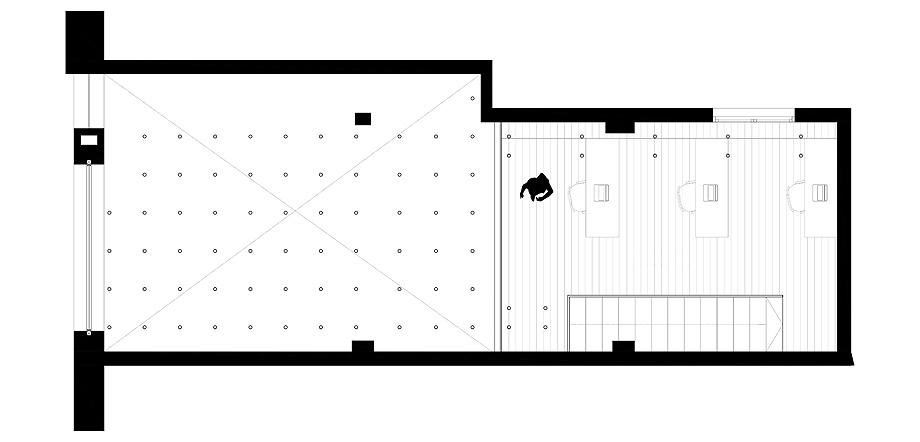 showroom cocinas bodelec en madrid de pentamera - planimetria (21)