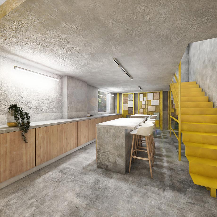 showroom cocinas bodelec en madrid de pentamera - renders (29)
