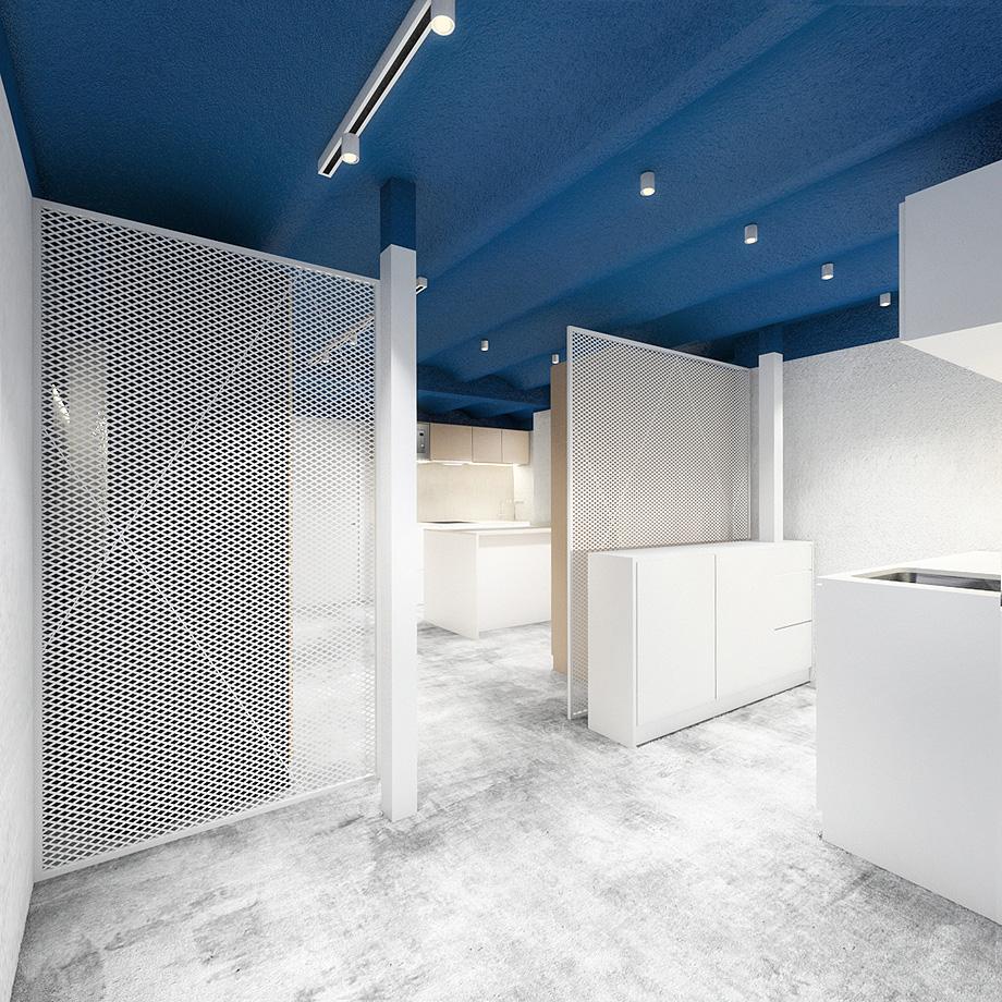 showroom cocinas bodelec en madrid de pentamera - renders (30)