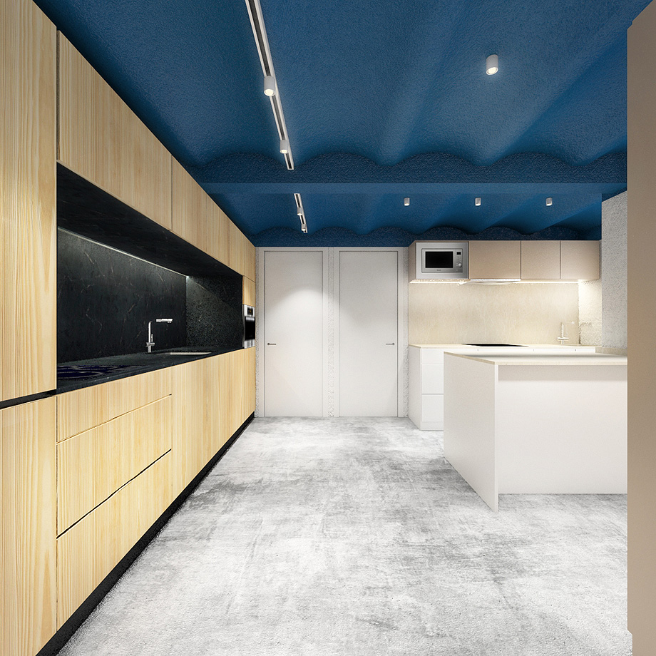 showroom cocinas bodelec en madrid de pentamera - renders (31)