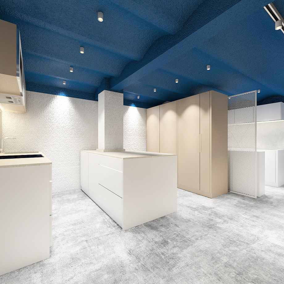 showroom cocinas bodelec en madrid de pentamera - renders (32)