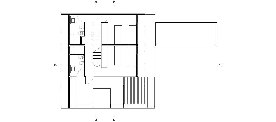casa en los arboles de luciano kruk - planimetría (23)