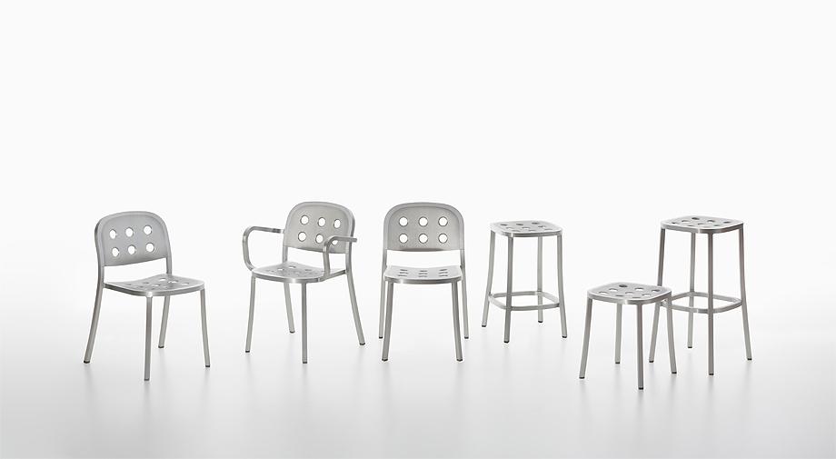sillas taburetes 1 inch all aluminium de jasper morrison y emeco (1)